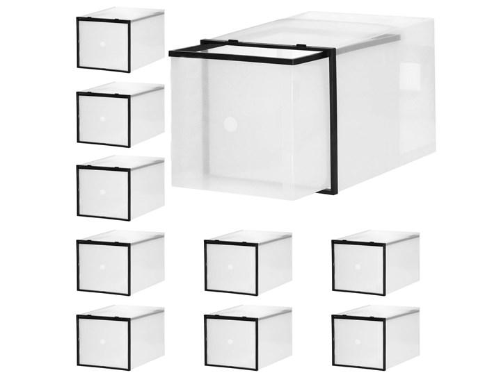 Organizer na buty 10 szt. pudełko wysuwane przeźroczysty Kategoria Organizery do szaf