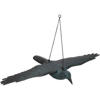 Odstraszacz ptaków 83x45x10cm latający kruk czarny