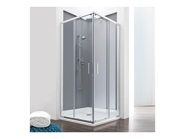 Roca Town Square kabina prysznicowa kwadratowa 90 cm AMP2609012M Wysokość 195 cm Rodzaj drzwi Rozsuwane Kategoria Kabiny prysznicowe