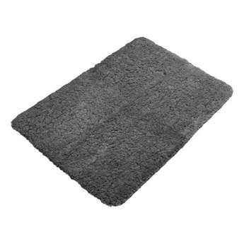 Szary antypoślizgowy dywanik łazienkowy Tiseco Home Studio Jule,60x120 cm
