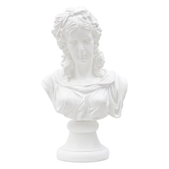 Biała figurka dekoracyjna Mauro Ferretti Woman
