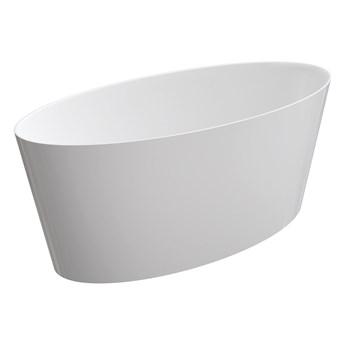 Roma Marble+ wanna wolnostojąca biały połysk 159 cm ROMA159BP