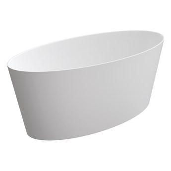 Roma Marble+ wanna wolnostojąca biały mat 159 cm ROMA159BM