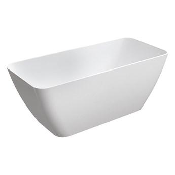 Parma Marble+ wanna wolnostojąca biały połysk 159 cm PARMAWWBP