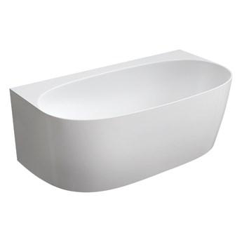 Valencia Marble+ wanna wolnostojąca przyścienna biały połysk 158x86 cm VALENCIAWPBP