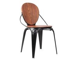 Krzesło LOUIX NATURAL czarne // ZUIVER