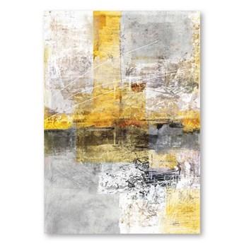 Obraz na płótnie Yellow Abstract, 70 x 100 cm