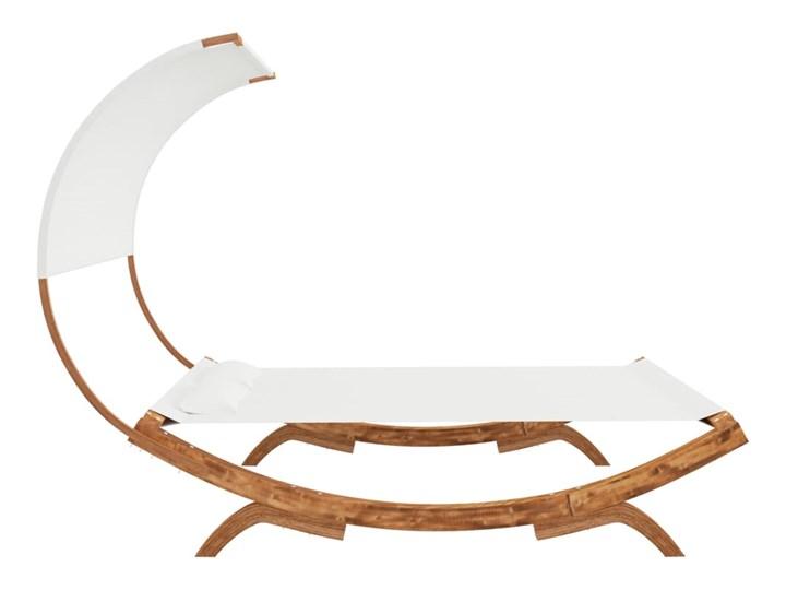 vidaXL Hamak z zadaszeniem, 165x210x155 cm, lite drewno świerkowe Kategoria Hamaki