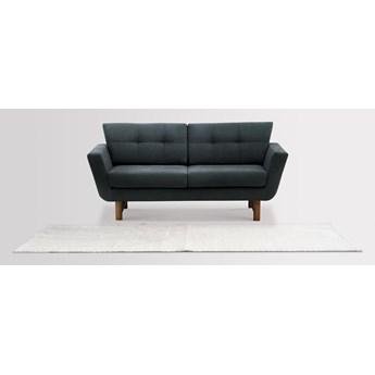Sofa Astrar 2-osobowa (Bawełna 63%, len 37% JASNOSZARY :len bawełna/jasnoszary)