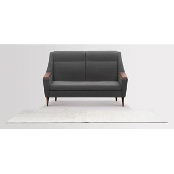 Sofa Rubusar 2-osobowa (Braveheart Charcoal :braveheart/charcoal)