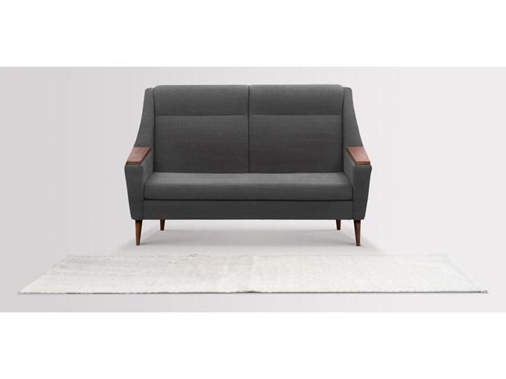 Sofa Rubusar 2-osobowa (Bawełna 63%, len 37% JASNOSZARY :len bawełna/jasnoszary) Stała konstrukcja Nóżki Na nóżkach Funkcje Bez dodatkowych funkcji