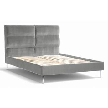 Łóżko Forsythian (200X200) welurowe  (Deluxe - welur łatwozmywalny |DOVE :deluxe/DOVE)