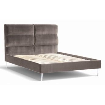 Łóżko Forsythian (180X200) welurowe  (Deluxe - welur łatwozmywalny SIENA :deluxe/SIENA)