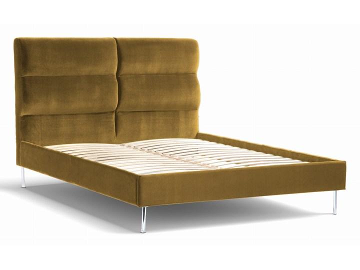 Łóżko Forsythian (160X200) welurowe (Deluxe - welur łatwozmywalny SIENA :deluxe/SIENA)
