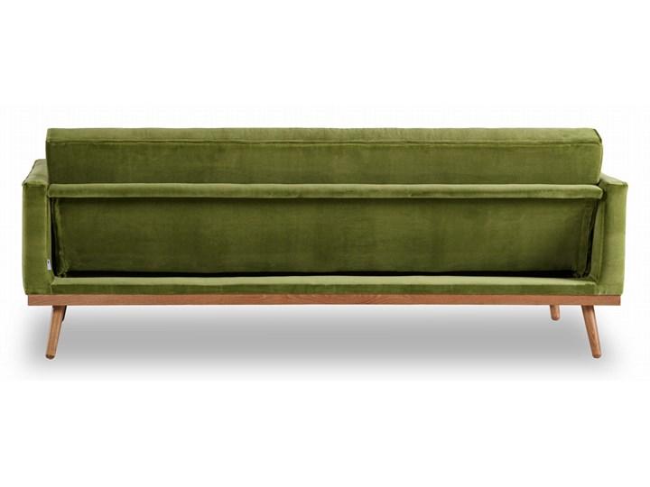 Sofa Klematisar 3-osobowa Welurowa z funkcją spania  (Deluxe - welur łatwozmywalny PEACOCK :deluxe/PEACOCK) Głębokość 91 cm Stała konstrukcja Kategoria Sofy i kanapy