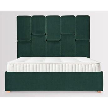 Łóżko Snödroppe (180x200) welurowe  (Deluxe - welur łatwozmywalny Surf :deluxe/SURF)