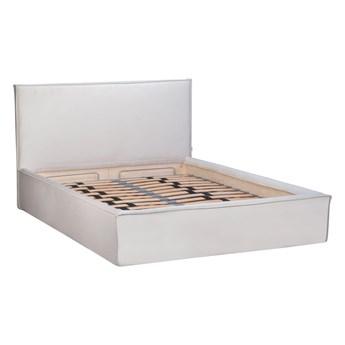 Łóżko Maskros (200X200) welurowe z pojemnikiem na pościel (Deluxe - welur łatwozmywalny Amber :deluxe/AMBER)
