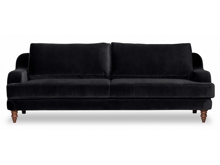 Sofa Mirar 3-osobowa welurowa (Welur bawełna 100% OLIWKOWY :welur/OLIWKOWY) Stała konstrukcja Materiał obicia Tkanina