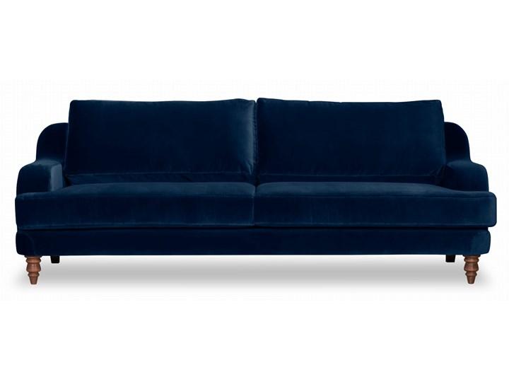 Sofa Mirar 3-osobowa welurowa (Welur bawełna 100% OLIWKOWY :welur/OLIWKOWY) Stała konstrukcja Powierzchnia spania Typ Gładkie