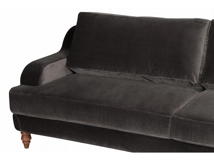 Sofa Mirar 3-osobowa welurowa (Welur bawełna 100% OLIWKOWY :welur/OLIWKOWY) Stała konstrukcja Powierzchnia spania