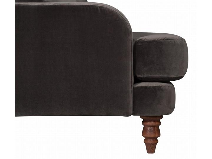 Sofa Mirar 3-osobowa welurowa (Welur bawełna 100% OLIWKOWY :welur/OLIWKOWY) Stała konstrukcja Kategoria Sofy i kanapy