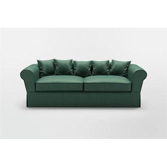 Sofa Malmö welurowa (Deluxe - welur łatwozmywalny PEACOCK :deluxe/PEACOCK)