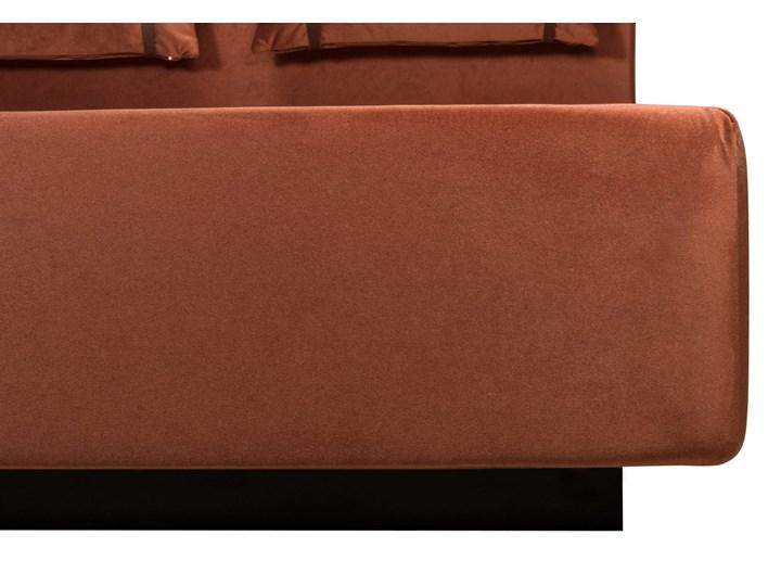 Łóżko Rejse (140x200) welurowe (Vocal - tkanina welwetowa:vocal/Vocal 14) Łóżko tapicerowane Kategoria Łóżka do sypialni Kolor Miętowy