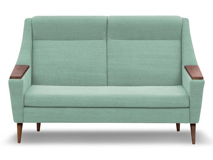 Sofa Rubusar 2-osobowa (Bawełna 63%, len 37% JASNOSZARY :len bawełna/jasnoszary) Stała konstrukcja Typ Gładkie