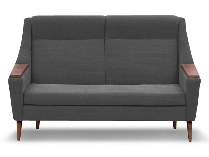 Sofa Rubusar 2-osobowa (Bawełna 63%, len 37% JASNOSZARY :len bawełna/jasnoszary) Boki Z bokami Stała konstrukcja Kategoria Sofy i kanapy
