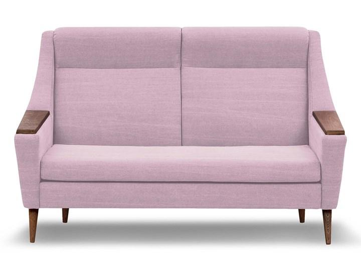 Sofa Rubusar 2-osobowa (Bawełna 63%, len 37% JASNOSZARY :len bawełna/jasnoszary) Stała konstrukcja Nóżki Na nóżkach Materiał obicia Tkanina