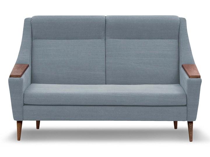 Sofa Rubusar 2-osobowa (Bawełna 63%, len 37% JASNOSZARY :len bawełna/jasnoszary) Materiał obicia Tkanina Stała konstrukcja Typ Gładkie