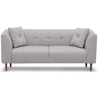 Sofa Ginster 2-osobowa (Bawełna 63%, len 37% JASNOSZARY :len bawełna/jasnoszary)
