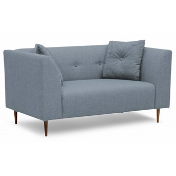 Mini sofa Ginster (Bawełna 63%, len 37%  ANTRACYT :len bawełna/antracyt)
