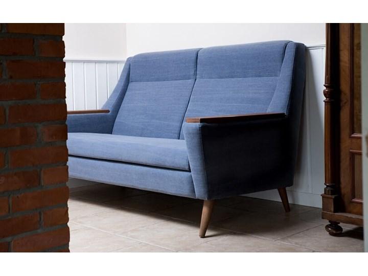 Sofa Rubusar 2-osobowa (Bawełna 63%, len 37% JASNOSZARY :len bawełna/jasnoszary) Stała konstrukcja Boki Z bokami