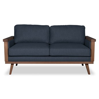 Sofa Orkidé 2-osobowa (Colourwash Charcoal :colourwash/charcoal)