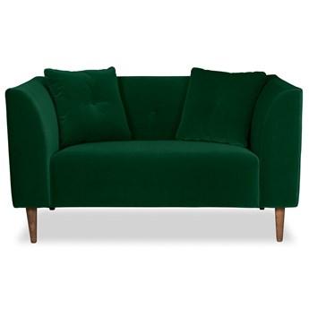 Mini sofa Ginster Welurowa (Welur bawełna 100% ZIELONY :welur/ZIELONY)