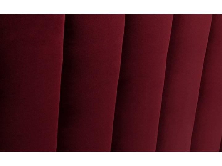 Łóżko Magnolia (160X200) welurowe (Welur bawełna 100% CZARNY :welur/CZARNY) Łóżko tapicerowane Kategoria Łóżka do sypialni Pojemnik na pościel Bez pojemnika
