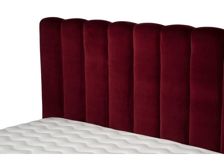Łóżko Magnolia (160X200) welurowe (Deluxe - welur łatwozmywalny CHARCOAL :deluxe/CHARCOAL) Rozmiar materaca 160x200 cm Łóżko tapicerowane Kategoria Łóżka do sypialni