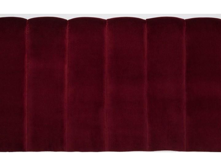 Łóżko Magnolia (160X200) welurowe (Deluxe - welur łatwozmywalny CHARCOAL :deluxe/CHARCOAL) Łóżko tapicerowane Rozmiar materaca 160x200 cm Kategoria Łóżka do sypialni