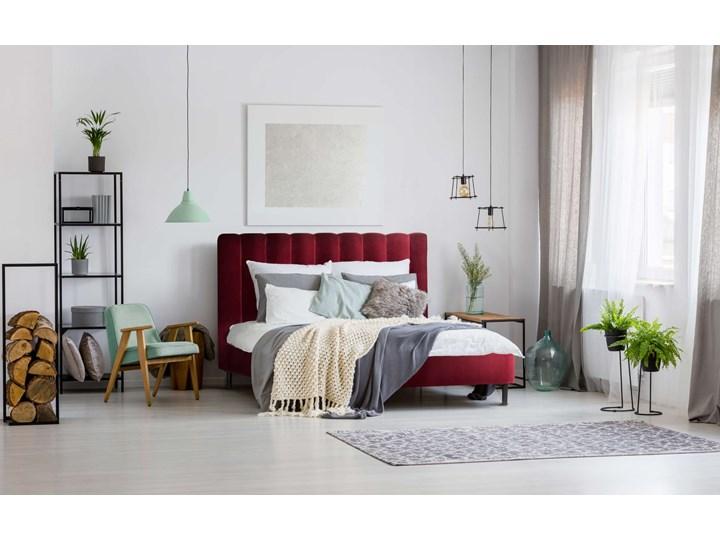 Łóżko Magnolia (160X200) welurowe (Deluxe - welur łatwozmywalny CHARCOAL :deluxe/CHARCOAL) Kategoria Łóżka do sypialni Łóżko tapicerowane Rozmiar materaca 160x200 cm