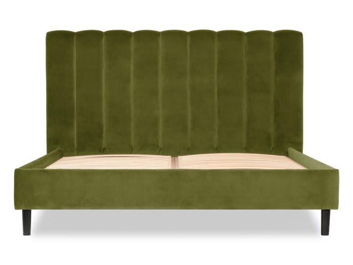 Łóżko Magnolia (160X200) welurowe (Deluxe - welur łatwozmywalny CHARCOAL :deluxe/CHARCOAL) Łóżko tapicerowane Kategoria Łóżka do sypialni Pojemnik na pościel Bez pojemnika