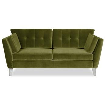Sofa Irisar 2-osobowa welurowa (Deluxe - welur łatwozmywalny PEACOCK :deluxe/PEACOCK)