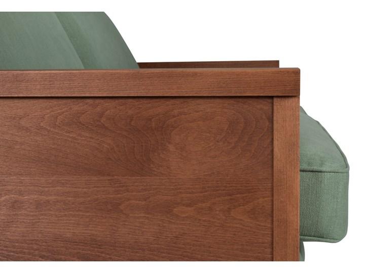 Sofa Orkidé 3-osobowa z funkcją spania (Braveheart Pigeon :braveheart/pigeon) Głębokość 114 cm Wersalka Kolor Zielony