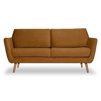 Sofa Aster 3-osobowa welurowa (Deluxe - welur łatwozmywalny WOOD :deluxe/WOOD)