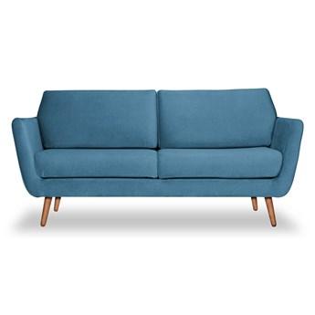Sofa Aster 3-osobowa welurowa (Deluxe - welur łatwozmywalny SKY :deluxe/SKY)
