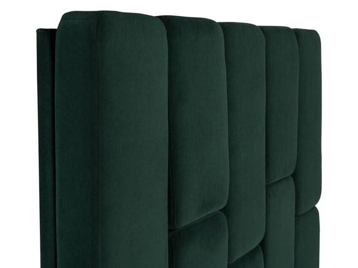 Łóżko Snödroppe (200x200) welurowe  (Welur bawełna 100% |GRANATOWY :welur/GRANATOWY) Kategoria Łóżka do sypialni Łóżko tapicerowane Pojemnik na pościel Bez pojemnika