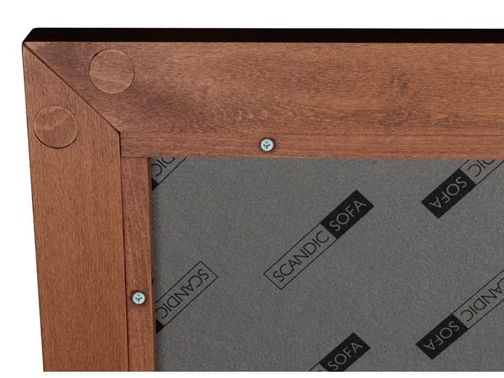 Łóżko Klematisar BERGEN (180x200)   (Bravehear |Chinchilla :braveheart/chinchilla) Kolor Szary Łóżko drewniane Łóżko tapicerowane Pojemnik na pościel Bez pojemnika