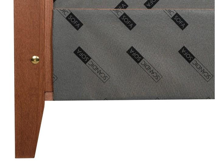 Łóżko Klematisar BERGEN (180x200)   (Bravehear |Chinchilla :braveheart/chinchilla) Łóżko tapicerowane Łóżko drewniane Kolor Szary