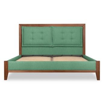 Łóżko Klematisar BERGEN (180x200)   (Bawełna 63%, len 37% MIĘTOWY :len bawełna/mięta)