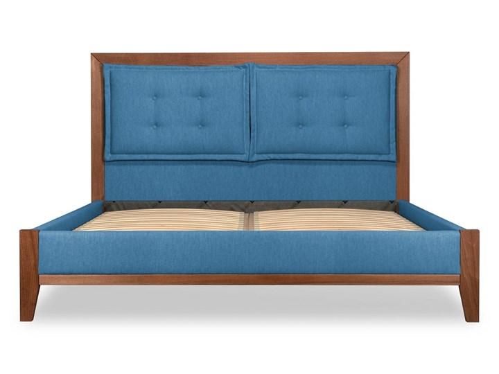 Łóżko Klematisar BERGEN (180x200)   (Bravehear |Chinchilla :braveheart/chinchilla) Łóżko tapicerowane Łóżko drewniane Kolor Szary Kategoria Łóżka do sypialni